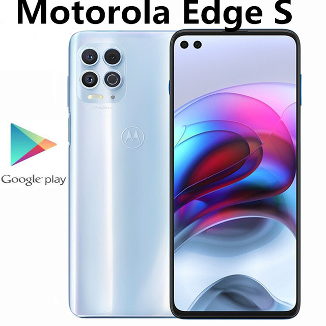 "International Firmware Motorola Moto Edge S 5G Smart Phone Fingerprint 64.0MP Snapdragon 870 5000mAh 6.7"" 90HZ Android 11.0 1"