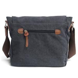 Image 1 - Tuval SLR kamera çantası ulusal coğrafi fotoğraf SLR kamera çantası Canon Nikon Sony için mini Messenger omuz çantası
