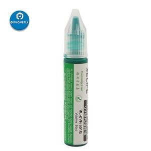 Image 4 - Relife 10CC אלקטרוני הגנת המעגלים PCB UV לריפוי הלחמה מסכת תיקון צבע ירוק הלחמה להדביק שטף קרם