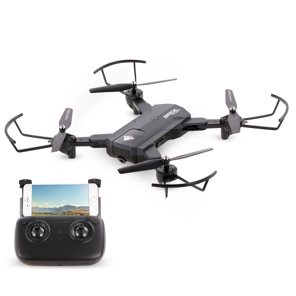 <font><b>F196</b></font> RC Drone with Camera 720P Wifi FPV RC Quadcopter Optical Flow Gesture Shot Follow Me Fly 22mins Altitude Hold RC Selfie image