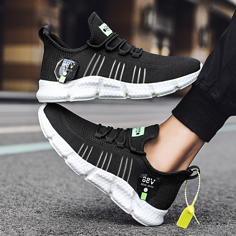 KJEDGB Hot Sale New Ultralight Soft Men s Casual Shoes Summer Sneakers Men Mesh Breathable Tenis