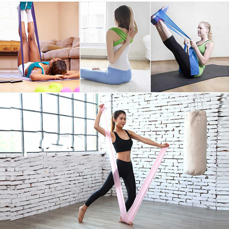 2019 hot yoga rally riem overspanning fitness apparatuur training resistance band rubber yoga fitness overspanning riding training apparatuur