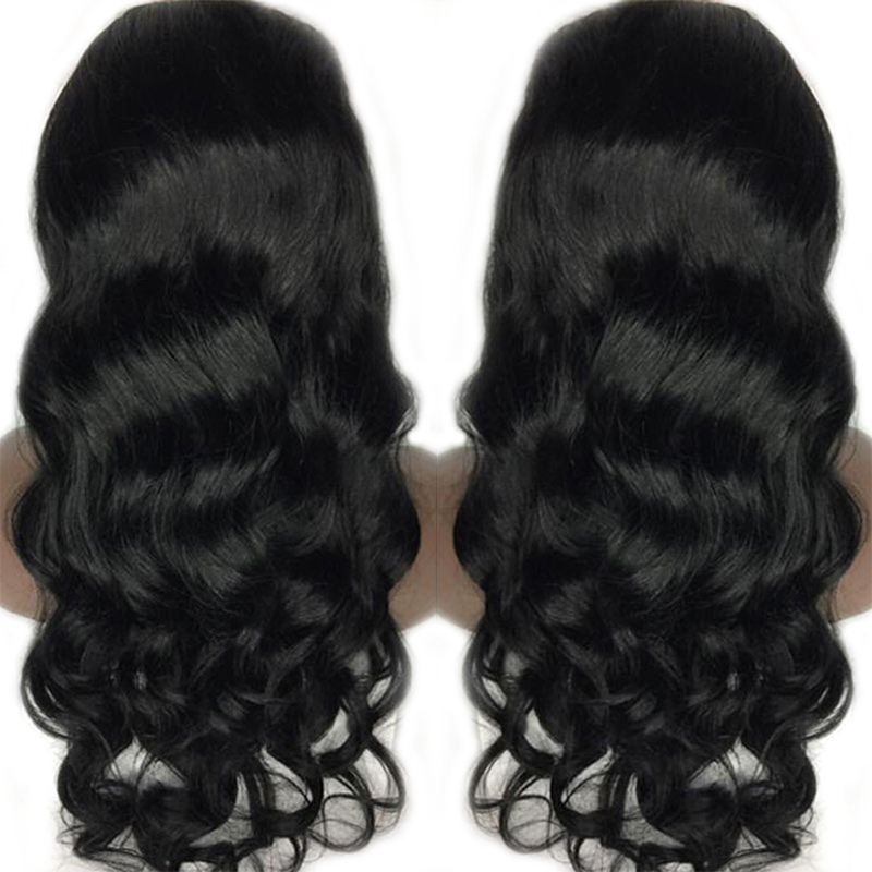 Eseewigs Lace Front Human Hair Wigs 150 Density For Black Women Brazilian Body Wave Wigs Remy Hair Bleached Knots With Baby Hair