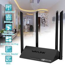 Wifi Routers Wavlink DDR3 Antennas Network-Extender EU 128MB 4 US UK 521R2P 1167mbps