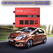 цена на Car Power Inverter Converter 8000W 12V TO 110V 12/24V TO 220V Car Invereter Voltage Charger Transformer Universal Auto Inverter