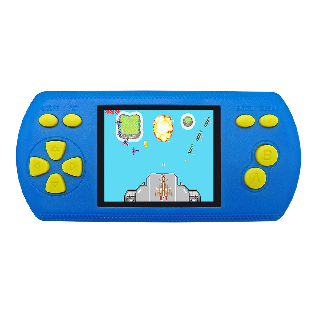 Game Console Portable Handheld 2 2 Inch Game Console Video Game Built-in 200 Classic Game portable children game players JA5