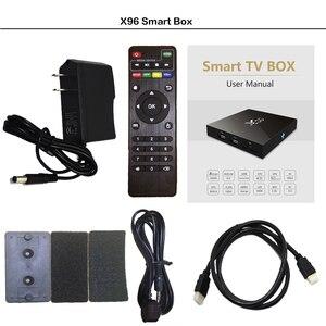 Image 5 - KINGOTT X96 Android smart tv box панель для Франции, Франции, Испании, Португалии, Бельгии реселлер tv box только, без канала или приложения включены