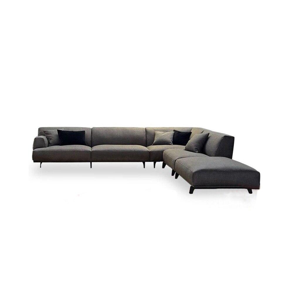 Salon Canapé ensemble диван collectivités кровать muebles de sala tissu canapé cama bouffée asiento sala futon Europe Du Nord en forme de L