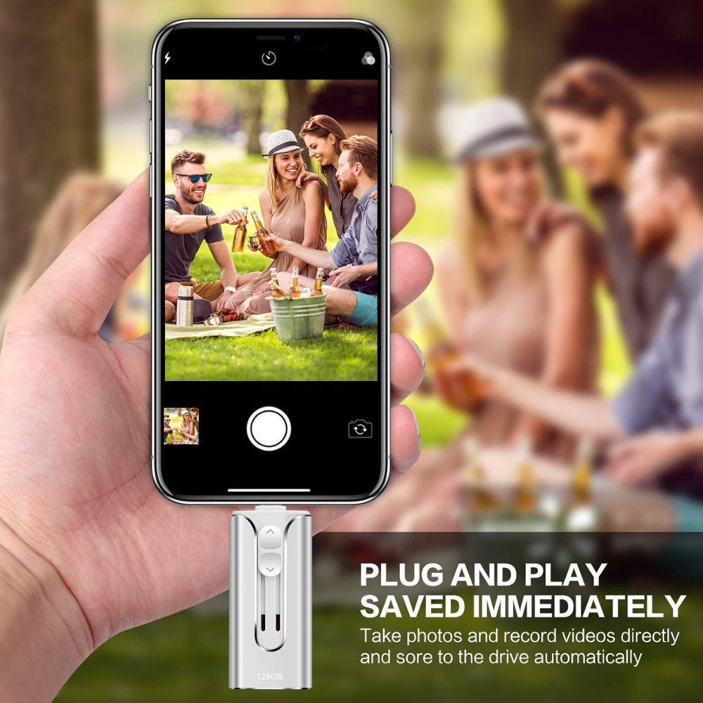 32GB 64GB 128GB 256GB 512GB Mini USB i-Flash Drive hd For iPhone iPad iPod iOS Android Devices Memory OTG Storage USB Stick  3.0 2