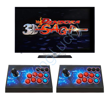 2020 new Pandora saga 3D 4188 In 1 Arcade console Online Connection WIFI download games Support 3P 4P Gamepad