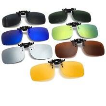 Bliski kierowca gogle noc kobiety mężczyźni okulary przeciwsłoneczne w formie nakładki projektant marki polaryzacyjne okulary przeciwsłoneczne żółte okulary do jazdy