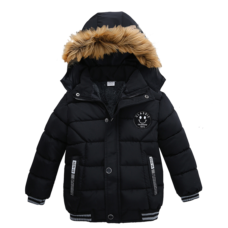 2021 NEW High Quality Winter Child Boy Down Jacket Parka Big Girl Thicking Warm Coat 2 3 4 5 6 Year Light Hooded Outerwears 2