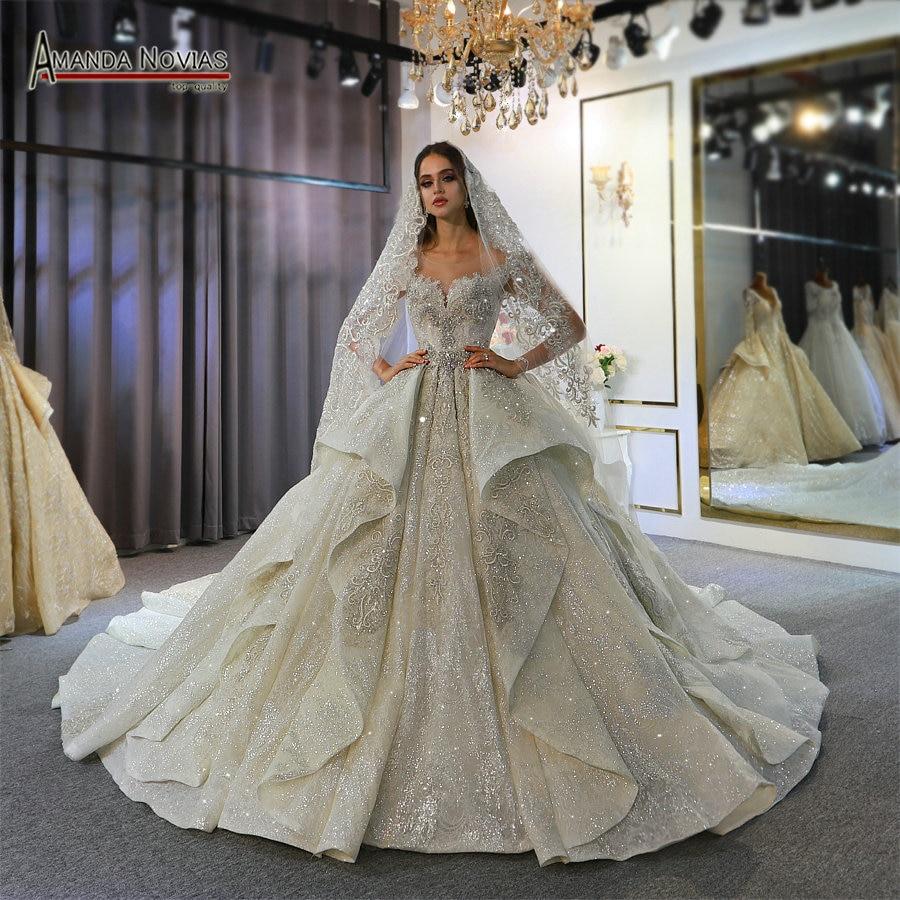 Amanda Novias robe de mariée 2020 liban mariages