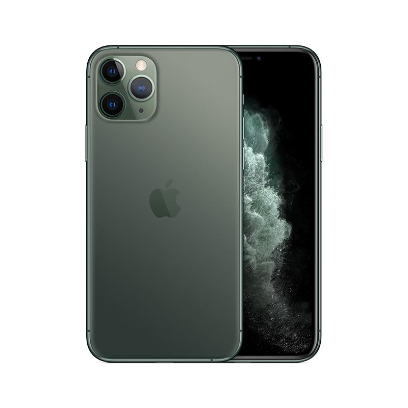 PanTong iPhone 11 Pro 64G 5,8 дюймов настоящий телефон полный экран телефон Apple авторизованный онлайн продавец - Цвет: Midnight Green