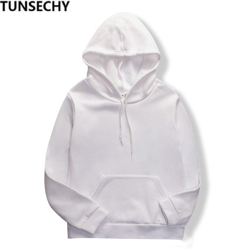 19 women's long-sleeved plain hooded sweatshirt plain multi-color men's and women's casual pullover hoodie 16