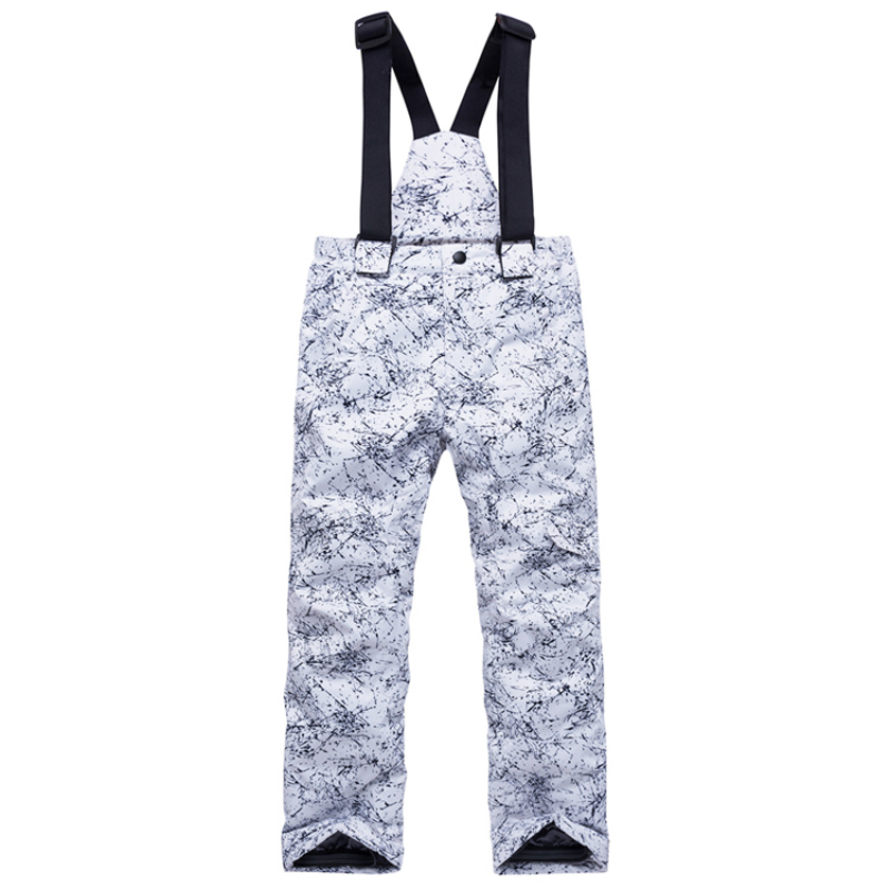 Winter Girls Ski Pants Windproof Sports Pants For Children Waterproof Warm Kid Boys Snow Skiing Snowboarding Trousers With Strap