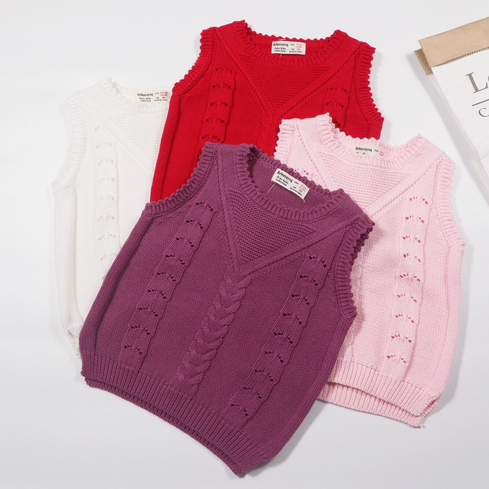 CHILDREN'S Sweater-2019 Infant Sweater Children Knitted Sweater Vest