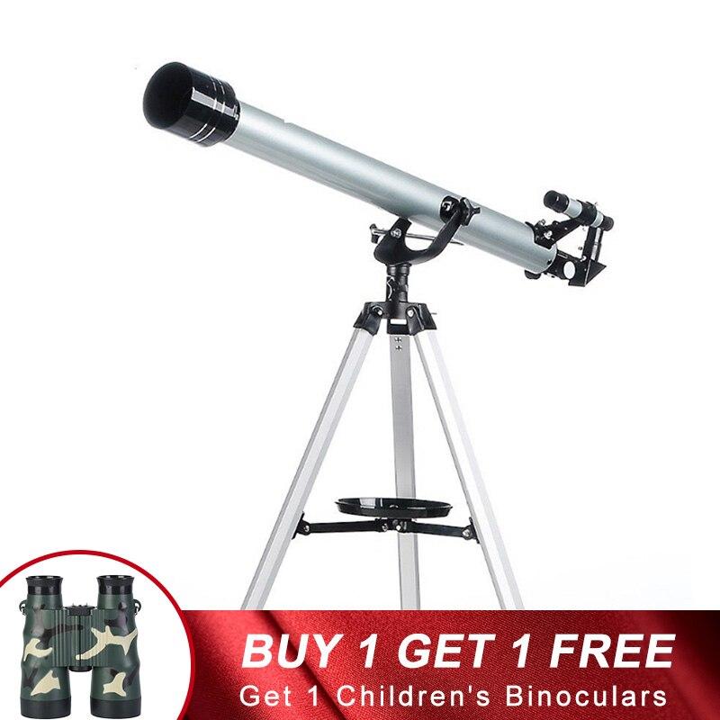 Professional Outdoor Spotting HD Teleskop Astronomische Mit Stativ Niedrigen Nachtsicht Weitwinkel Monokulare Für Camping Jagd