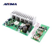 AIYIMA-Placa de amplificador potencia Subwoofer A1695 C4467 350W, amplificador de Audio estéreo de Woofer para altavoz DIY, AC24V-28V Dual