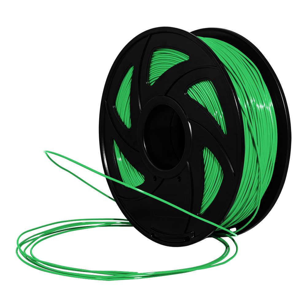 XVICO 3D プリンタ PLA フィラメント 1.75 ミリメートル 1 キロ/2.2lb スプール MakerBot 部品ホワイトゴールドシルバー、ブラック、オレンジグリーン