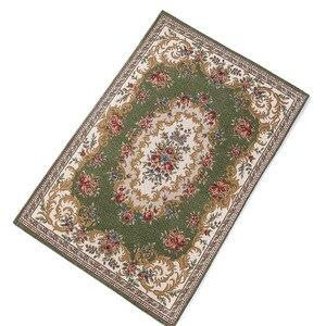 Image 2 - Islamitische Gebed Mat 80*120Cm Cashmere Achtige Thicken Deken Salat Musallah Vloerkleed Tapijt Moslim Namaz Non Slip Bidden Matten