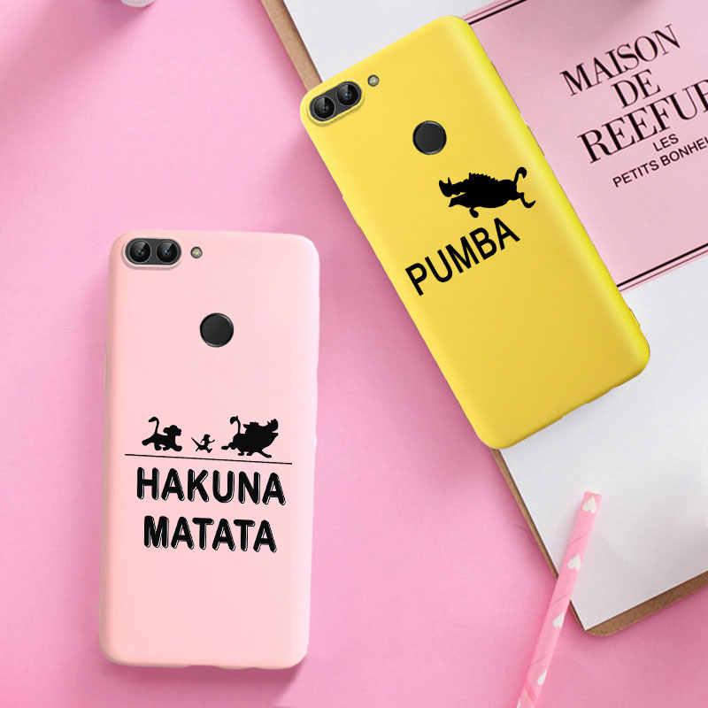 Güzel silikon TPU kılıfları için Huawei Y5 Y6 2018 onur 7A DUA-L22 7S 7A Y5 başbakan Y5 Lite 2018 onur oynamak 7 Ultra Sfot kapakları
