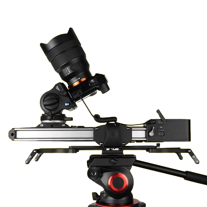 Motorized Micro 2 Camera Slider Track Dolly Motor Slider Rail System Portable Travel Video Slider For DSLR BMCC RED ARRI Mini