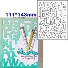 A-Z Alphabets Pattern Metal Cutting Dies Stencils A-Z Alphabets Pattern Die Cuts For Card Making Decoration New 2019 Crafts a z