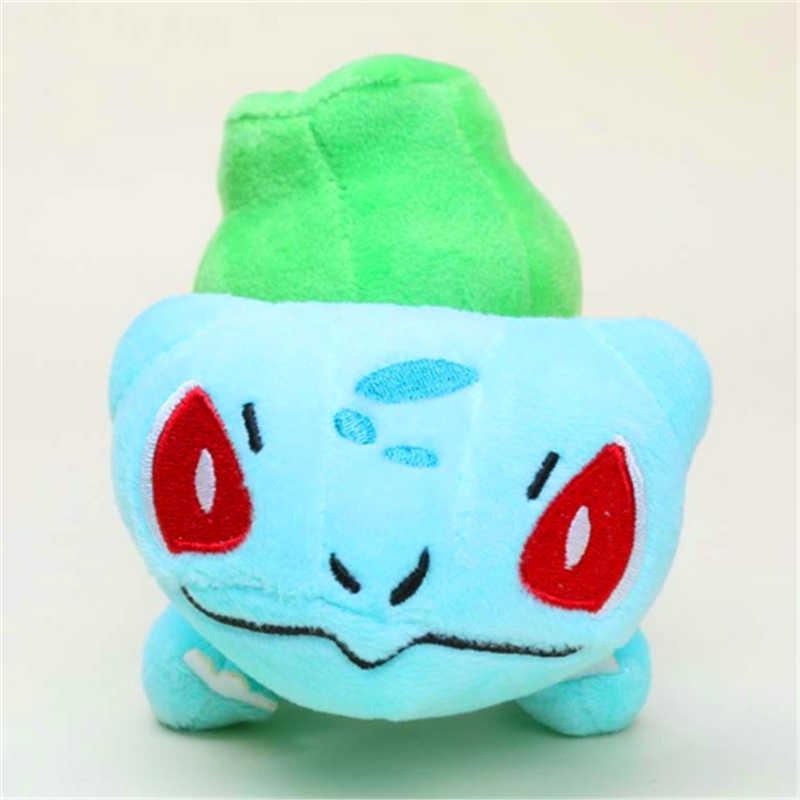 Mini boneca de anime de 15-20cm, brinquedo de pelúcia de poliwag bulbasaur charmander lapras snorlax, presente de natal para crianças