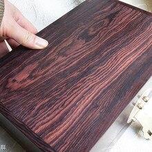 Dalbergia atifolia-cuchillo de palo de rosa púrpura, parche de manija, pulseras artesanales de madera hechas a mano, madera no tratada, no encerada, no pulida