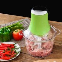 Top Deals Electric Bowl Grinder for Meat Vegetable Fruits and Nuts Multifunctional Household Electric Food Processor Meat Grinde|Meat Grinders|   -