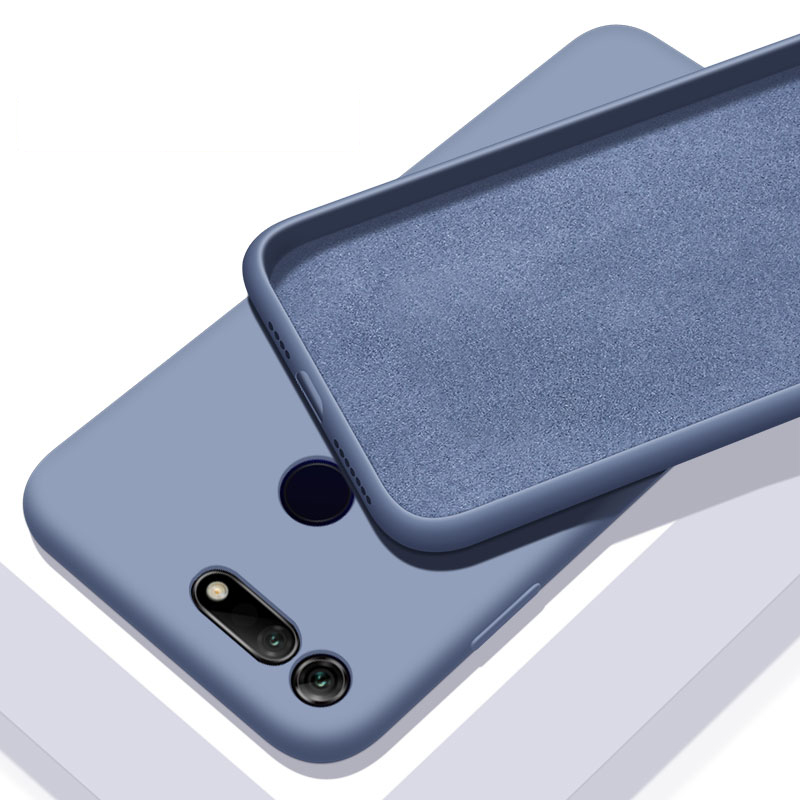 For Huawei Honor View 20 Case Liquid Silicone TPU Soft Cover on For Huawei Honor 20 Pro V20 20s Phone Case Shockproof Fundas