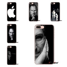 Steve Jobs Quote Op Mensen Voor Samsung Galaxy S3 S4 S5 Mini S6 S7 Rand S8 S9 S10 Plus Note 3 4 5 8 9 zachte Transparante Shell Case(China)