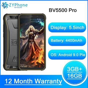 Перейти на Алиэкспресс и купить Blackview BV5500 Pro оригинальный IP68 Водонепроницаемый 5,5 дюймпрочный смартфон 4400 мАч 3 Гб оперативной памяти, 16 Гб встроенной памяти, Android 9,0 пирог 4G моби...