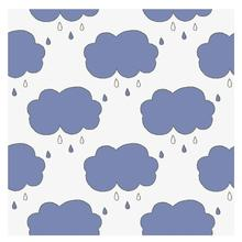 Rain Cloud Clear Stamp/Seal for DIY Scrapbooking/photo Album Decorative Stamp Sheets 13*13cm