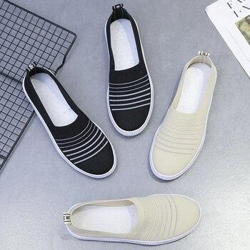 AARDIMI New Summer Women's Slip-on Flat Shoes Woman Platform Ballet Flats Female Espadrilles Ladies Loafers 2020 Women Moccasins цена 2017