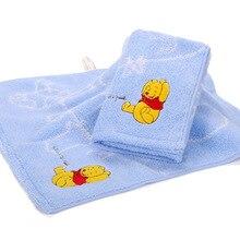 Handkerchief Towel Winnie Disney Cartoon The 34x34cm Scarf Square Water-Absorbing Quick-Drying