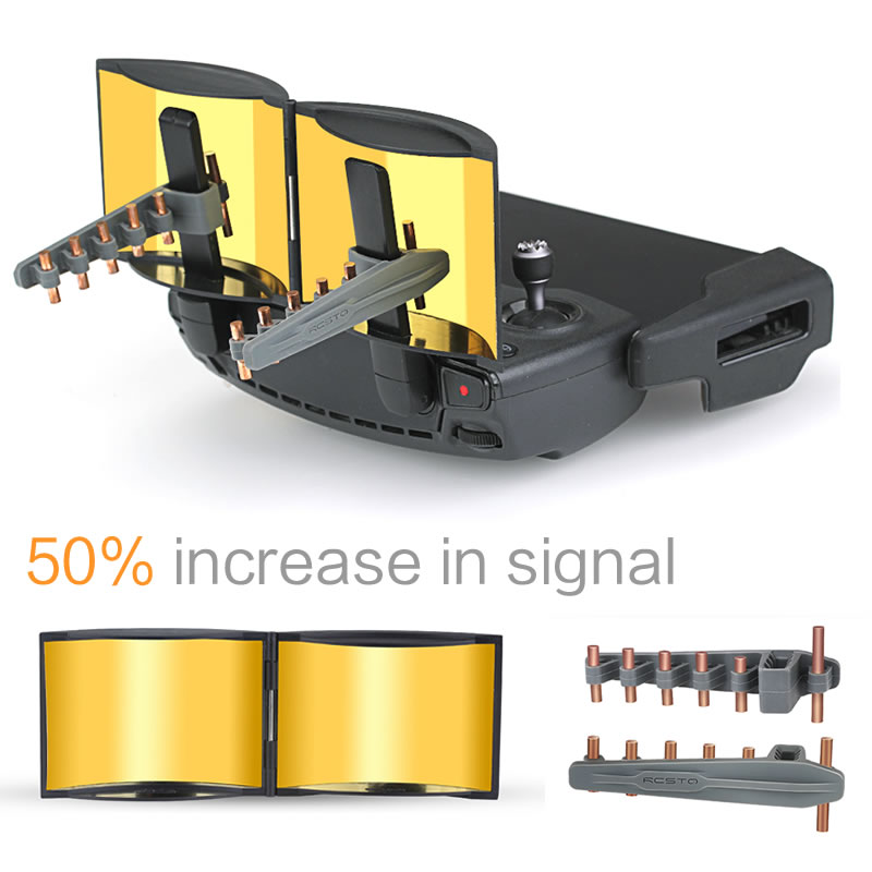 Increase Signal 50percent Remote Control range extender yagi Antenna signal Booster propellors  for Mavic Mini  mavic 2pro Accessories