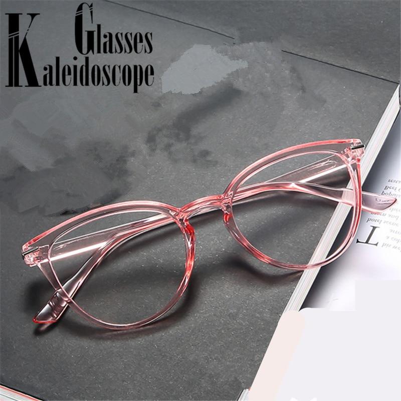 Gafas transparentes Anti-blue light montura para hombres y mujeres gafas falsas Ópticas Clásicas monturas de gafas de miopía gafas Retro para mujeres