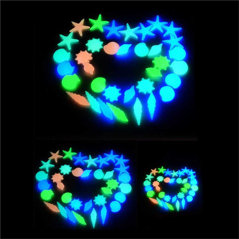 高品質 10 個発光発光人工小石石ダーク人造石のための庭の装飾