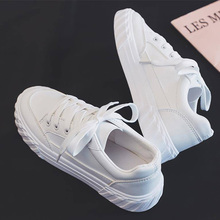Vulcanized Shoes Men Leather Sneakers Wh