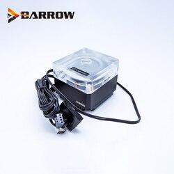 Barrow DDC PWM pompa 17W maksymalny przepływ podnoszenia 5.5 metrów 960L/H ręczna regulacja prędkości lub PWM 3000RPM układ chłodzenia wodą