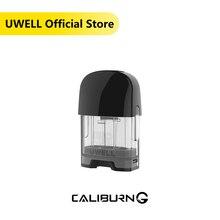 UWELL Caliburn-G Pod Cartridge 2Pcs/Pack 2ml Capacity 0.8 ohm Coil Vape Pod for