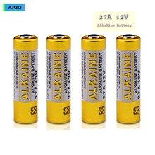 Цена 15 шт. AJQQ 27A батарея 12 В MN27 27A A27 L828 щелочная батарея для дистанционного управления дверной звонок