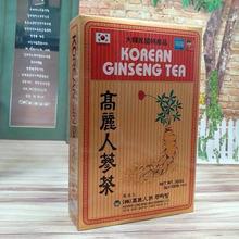 Корейский чай женьшеня с высоким содержанием красный женьшень