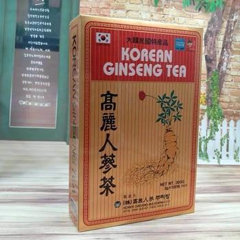 High content Korean ginseng tea, red ginseng, ginseng 1 box = 300g {3g x100 pack} Anti-tumor, Improve immunity  prolong life