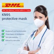 20PCS Einweg maske Staubdicht Gesicht Mund Masken Anti PM 2,5 Anti-Influenza Atem Sicherheit Masken Gesicht KN95 MASKE