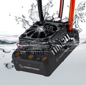 Image 3 - Originele Hobbywing Ezrun Max5 V3 200A Waterdichte Borstelloze Esc Voor 1:5 Rc Auto Op Weg Auto