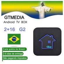 [Brazil]GTMEDIA G2 Android TV BOX 7.1 Amlogic S905W Quad-core 4K 2/16GB WiFi iptv m3u Set Top Box IPTV Subscription brasil iptv цены