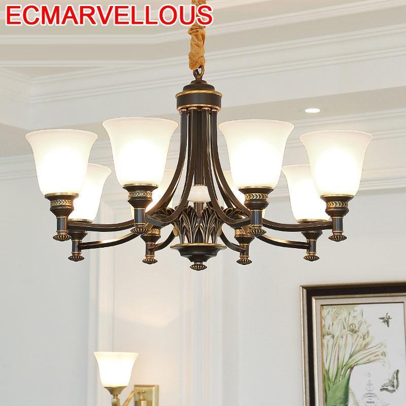 European Nordic Design Fixtures Lustre Lampara Colgante Luminaria Deco Maison Suspension Luminaire Hanging Lamp Pendant Light